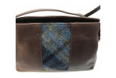 Cross Body Mini Bag with Sound of Mull Tartan Tweed