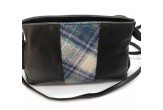 Cross Body Mini Bag with Sound of Iona Tartan Tweed