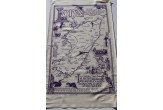 Isle of Iona Map Tea Towel