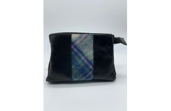 Make up Bag with Sound of Iona Tartan Tweed