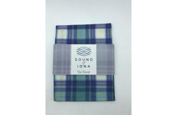 Sound of Iona Tartan Tea Towel