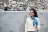 Sound of Iona Short Woven Scarf